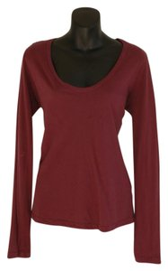 James Perse Top red