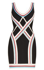 Hervé Leger Bandage Tight Dress