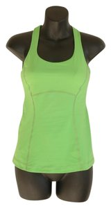 Lululemon luon green scoop neck cut out back