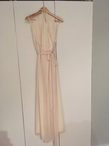 Joanna August Going To The Chapel Dc Long Halter Dress