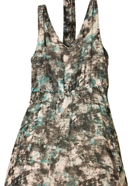 Preload https://img-static.tradesy.com/item/20074550/modcloth-teal-black-white-knee-length-short-casual-dress-size-8-m-0-1-650-650.jpg