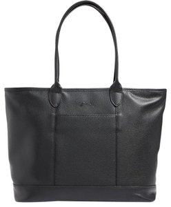 Longchamp Shoulder Travel Tote in BLACK