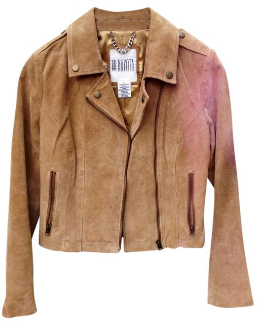 Item - Brown Camel Suede Leather Motto Jacket Size 4 (S)
