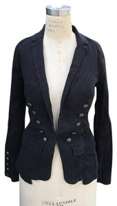 Free People Black Womens Jean Jacket