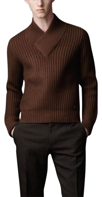 Preload https://img-static.tradesy.com/item/20074721/burberry-mens-cotton-silk-cable-knit-sweaterpullover-size-16-xl-plus-0x-0-1-650-650.jpg