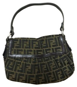Fendi Zucca Chef Flap Excellent Condition Shoulder Bag