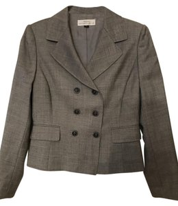 Tahari Tahari Suit with Double Breasted Jacket and Skirt