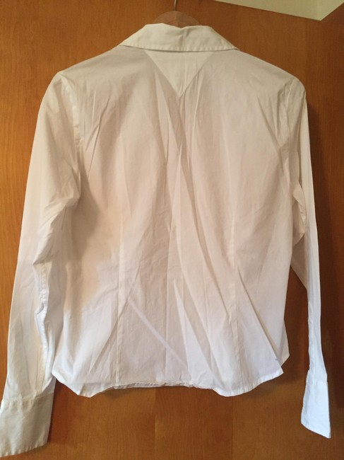 Tommy Hilfiger Clean Neat Tailored Button Down Shirt white Image 1