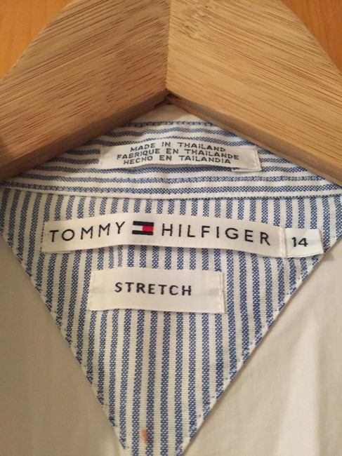 Tommy Hilfiger Clean Neat Tailored Button Down Shirt white Image 2