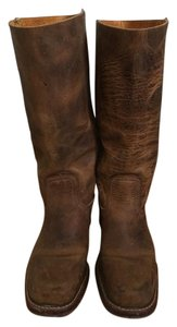 Frye Leather Campus Saddle Boots