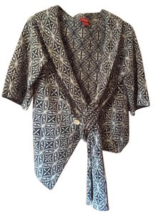 Sundance Unusual Funky Boho Patterned Sweater