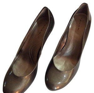 Tahari Spanish Olive Pumps