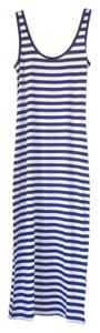 Navy and white striped Maxi Dress by Forever 21