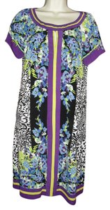 ECI New York short dress purple black blue on Tradesy