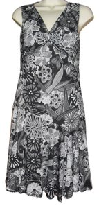 Desigual short dress black white gray on Tradesy