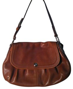 Coach Brand New Leather Soho Satchel in Walnut