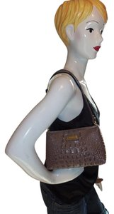 Brahmin Zip Top Closure Shoulder Bag