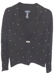 Jones New York Overall Pearls Wool Sweater