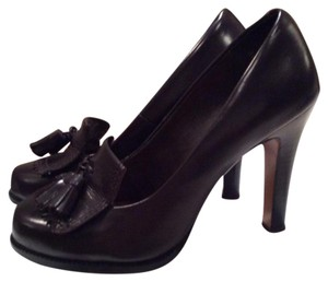 Halogen Brown Pumps