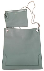 3.1 Phillip Lim Soleil Mint Tote in Frost Blue