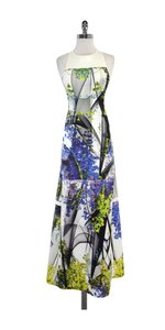 Maxi Dress by Clover Canyon Multi Color Floral Neoprene