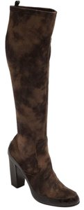 Donald J. Pliner Brown Suede Size 8 Knee High Brown Espresso Boots
