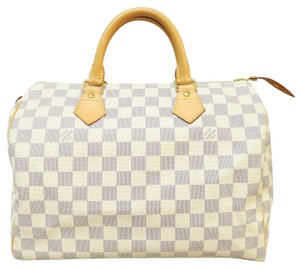 Louis Vuitton Lv Face Canvas Tote in white