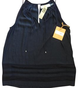 Ramy Brook New With Tags Silk Top Navy