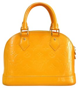 Louis Vuitton Tote Lv Bb Alma Satchel in orange