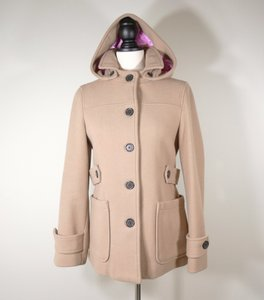 Gap Wool Hooded Pea Coat