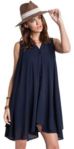 Umgee short dress Navy on Tradesy