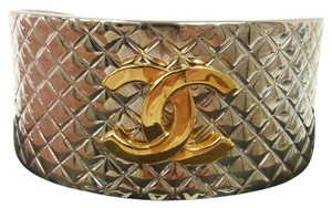 Chanel authentic chanel RARE cc logo cuff bracelet