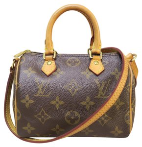 Louis Vuitton Lv Mini Speedy Tote Cross Body Bag