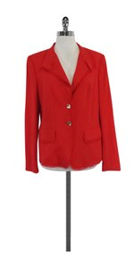 Escada Red Wool Jacket