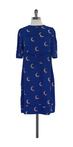 Victoria Beckham short dress Blue Moon Print on Tradesy