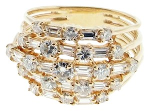 1.66 Ct diamond & 14k yellow gold ring - right hand,engagement, wedding Wholesale