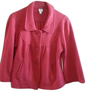 Gap Swing Pleats Cotton red Jacket