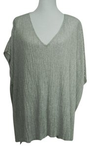 Eileen Fisher Viscose Stretchy V-neck Tunic