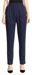 10 Crosby Derek Lam Trouser Pants Navy, Blue