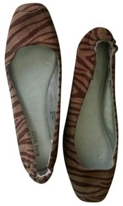 Nine West Ballerina Ballet brown/tan Flats