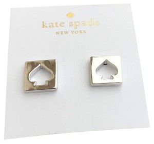 Kate Spade NWT Kate Spade Hole Punch Silver Earrings