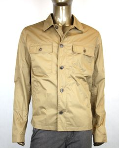 205ccf5e9 Gucci Brown New Men s Techno Poplin Safari Jacket Eu 54  Us 44 304815 2340  Groomsman