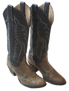 Justin Boots Gray Boots
