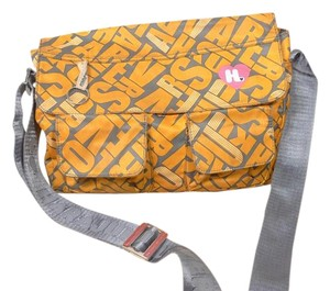 Harajuku Lovers Crossbody yellow Messenger Bag