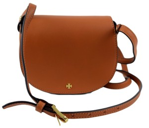 Tory Burch Camello Mini Leather Cross Body Bag