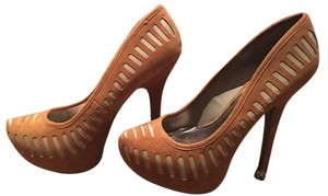 Anne Michelle cognac/nude Pumps