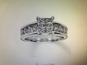 New Kay Diamond Engagement Ring 1-3/4 Ct Tw 14k White Gold