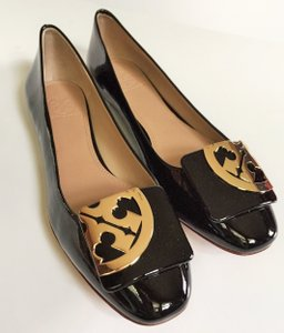 Tory Burch black, GOLD Flats
