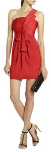 BCBGMAXAZRIA One Shoulder Shift Dress