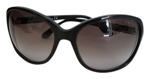 Tom Ford TOM FORD Sheila Black Round Oversized Sunglasses TF186 01B 62 125
